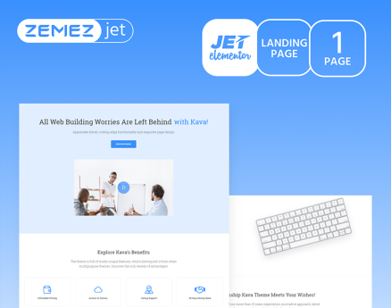 Benefix - Minimal Consulting Jet Elementor Template