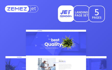 Wizarro - Business Consulting Jet Elementor Template