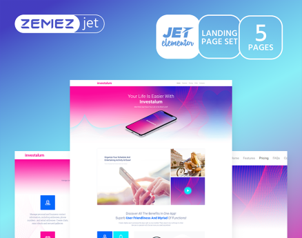 AppRove - Corporate App Jet Elementor Template