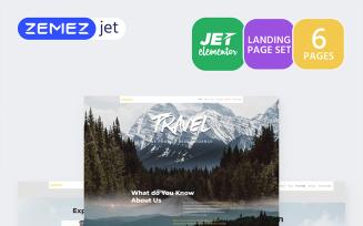 Hottrip - Travel Agency Jet Elementor Kit