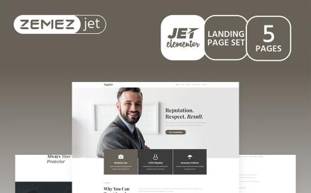Justicon - Lawyer Elementor Jet Elementor Kit