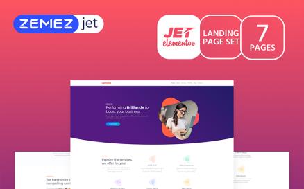 Markent - Digital Agency Jet Elementor Kit