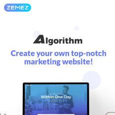 Business blog wordpress theme algorithm business marketing elementor wpml ready wordpress template flashek Images