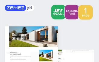 Cottager - Luxury Real Estate - Jet Elementor Kit
