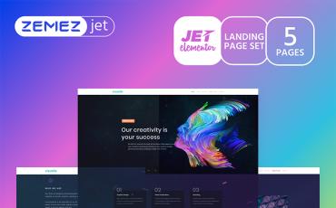 Imprezza - Creative Mondrianism - Jet Elementor Kit