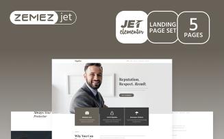 Justicon - Lawyer Elementor Jet Kit