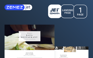 La Resto - Restaurant Jet Elementor Template