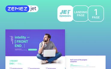 Studiex - IT Cources - Jet Elementor Kit