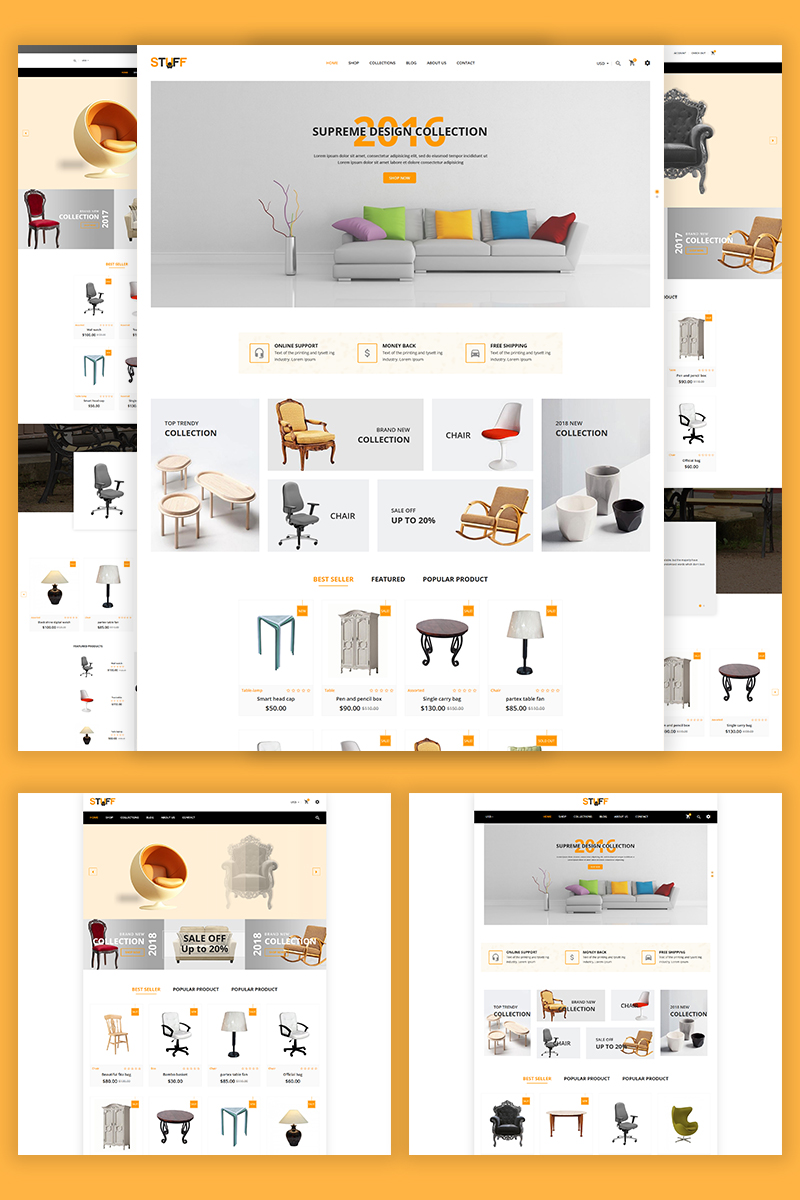 Stuff - Furniture Shopify Theme - screenshot