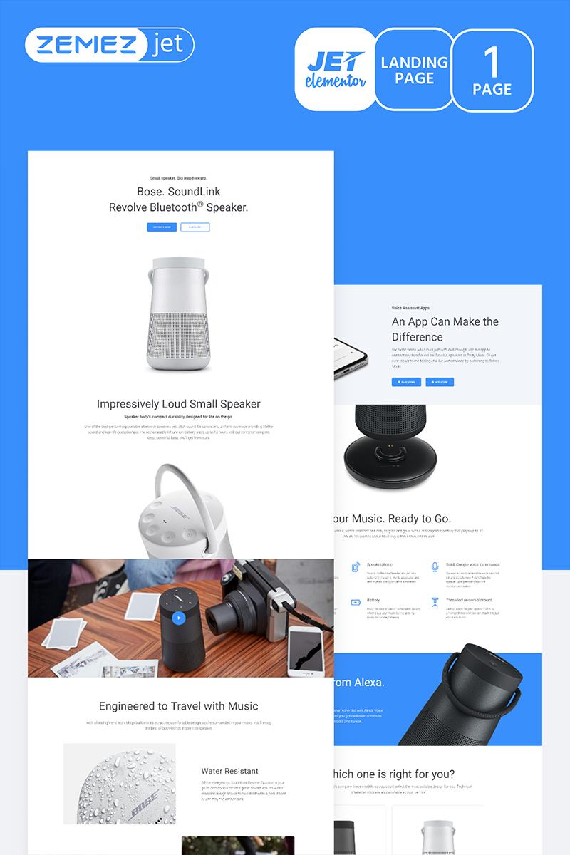 Wayzine - Startup Jet Elementor Template
