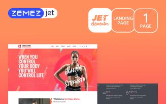 YourWOD - Crossfit Jet Elementor Template