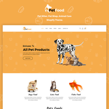 Preview image of PetFood - Pet Sitter, Shop, Animal Care