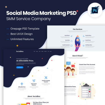 Preview image of SocialBux SMM Service Provider
