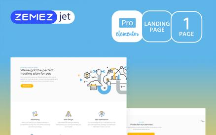 Hoztan - Hosting Pro Elementor Kit