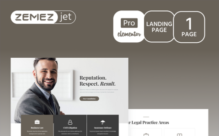 Juristos - Lawyer Pro Elementor Kit