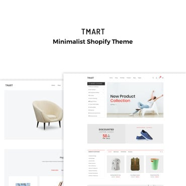 Preview image of Tmart - Minimalist Multipurpose