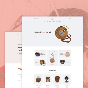 Preview image of Nokshi - Handmade & Craft eCommerce
