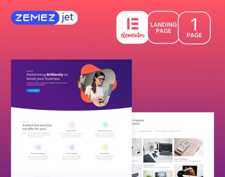 Marketz - Digital Agency Elementor Template