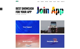 Join App - App Landing Page Joomla Template