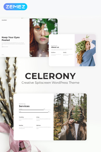 Celerony - Creative Splitscreen Elementor