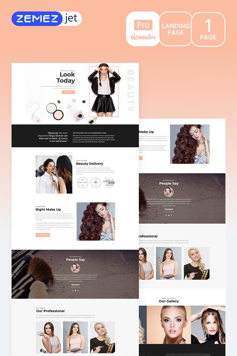 Gracia - Beauty Salon Pro Elementor Template #70277