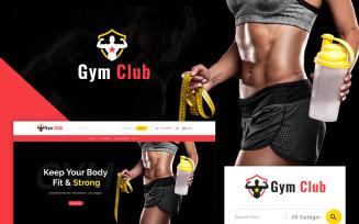 Gym Club PrestaShop Theme