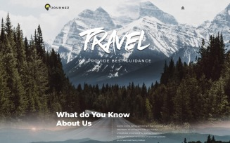 Journez - Travel WordPress Elementor Theme