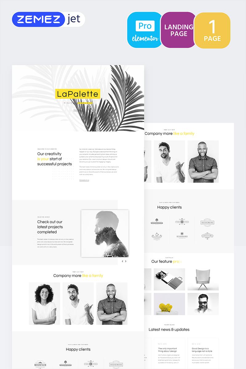 Masterity - Creative Minimal Pro Template de Elementor №70215