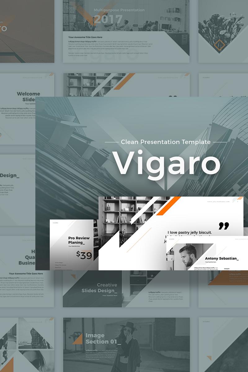 """PowerPoint Vorlage namens """"Vigaro Presentation"""" #70251"""
