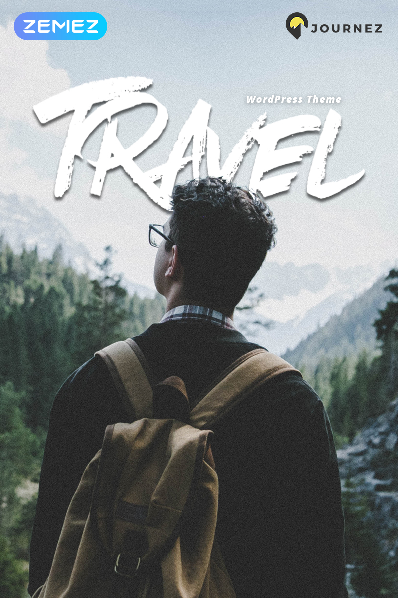 Responsive Journez - Travel Elementor Wordpress #70225