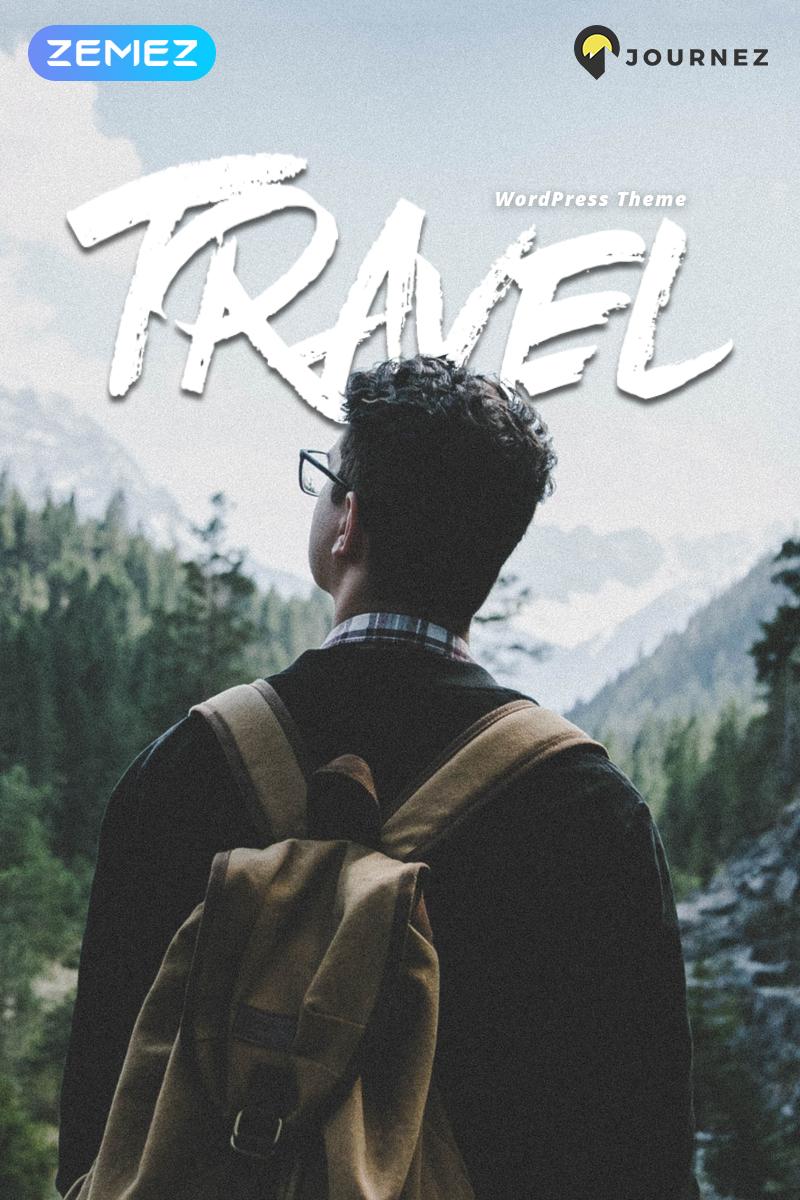 Reszponzív Journez - Travel Elementor WordPress sablon 70225