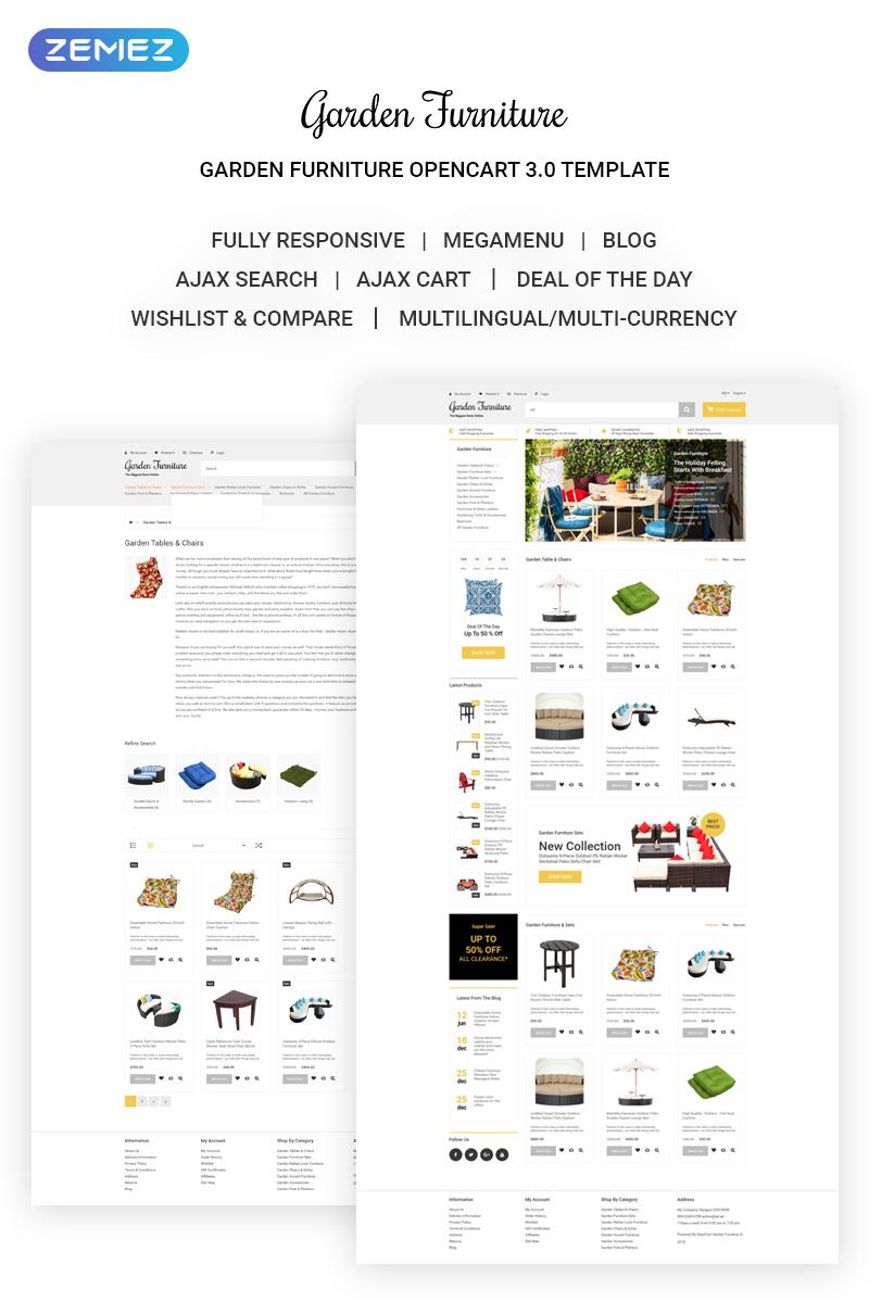 Website Template #70302 Garden Furniture Wholesale Custom Website ...