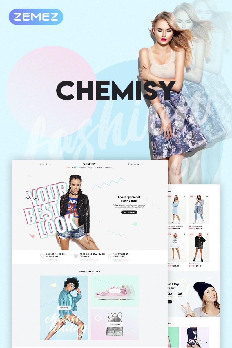 Chemisy - Clothes Elementor WooCommerce Theme