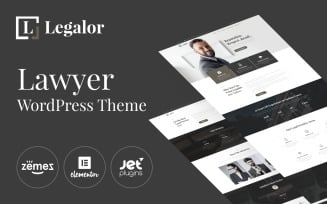 Legalor - Lawyer WordPress Elementor Theme