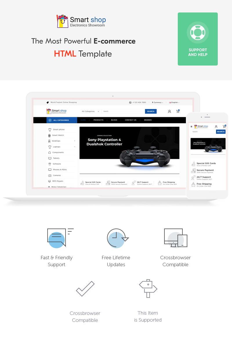 """Plantilla Web """"SmartShop Electronic Shop"""" #70388"""