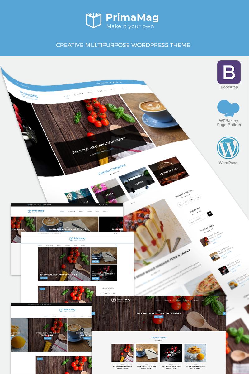PrimaMag - Magazine and Blog WordPress Theme