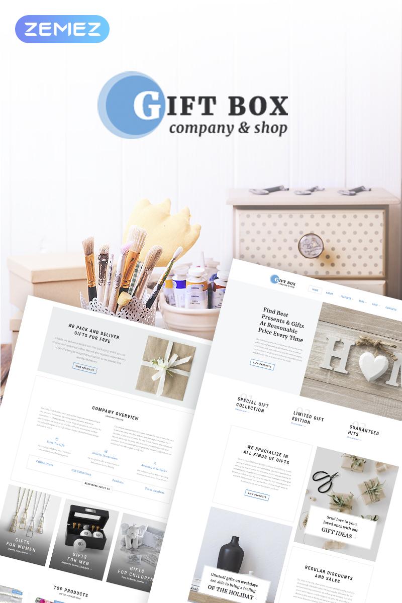 Responsive Gift Box - Handmade Gifts Store Elementor Woocommerce #70391