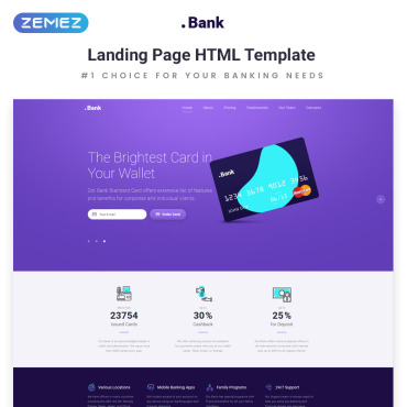Preview image of .Bank - Financial HTML5