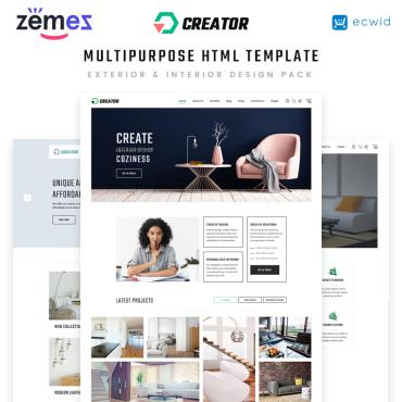 Preview image of Creator - Design Multipurpose HTML5