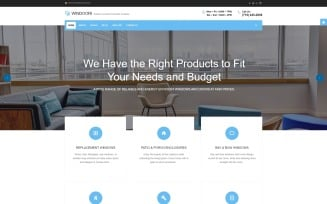 Windoori - Windows & Doors Production Company Joomla Template