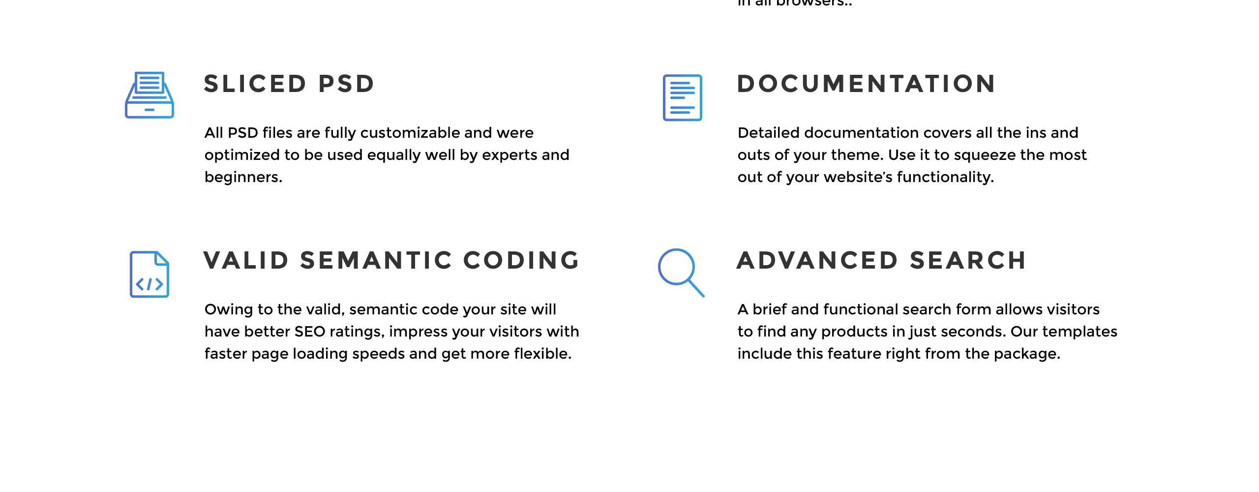Website Design Template 70473 - architecture