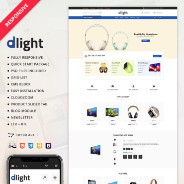 Preview image of Delight Electronic Store
