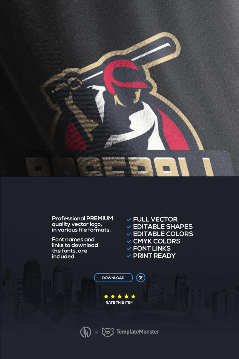 Baseball Template de Logotipo №70492