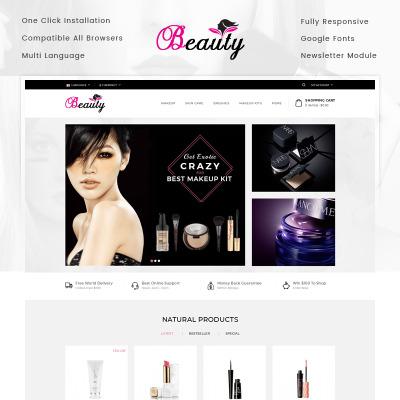Cosmetics Store Templates