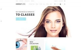 Contact Lens OpenCart Template