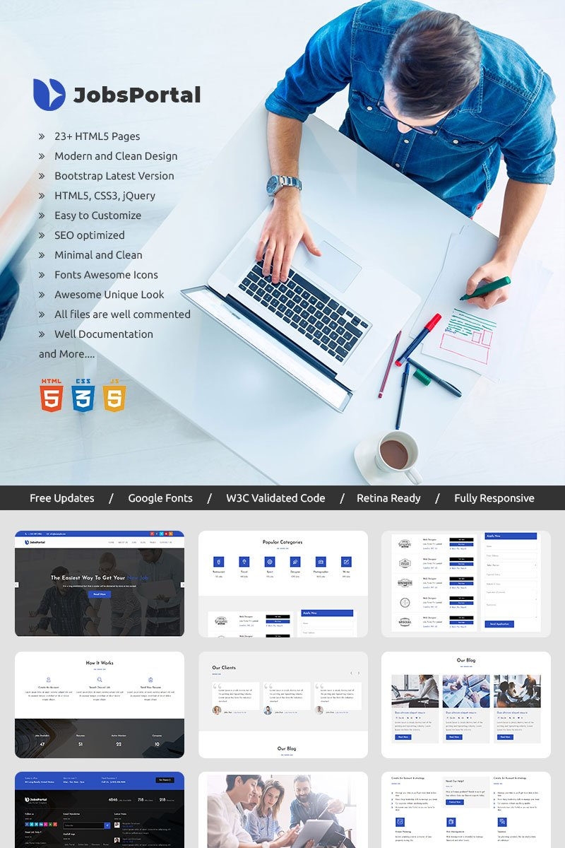 jobs-portal-online-jobs-search-website-template_70423-original Online Bootstrap Form Designer on nice contact, input template, apply button, no boxes, inline label, vertical horizontal, general detail collection, control types,