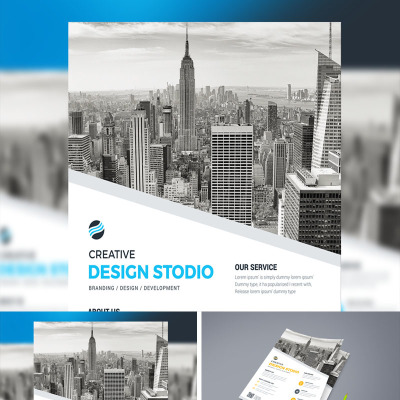 Business Brochure Design Template | InDesign Brochure | Company ...