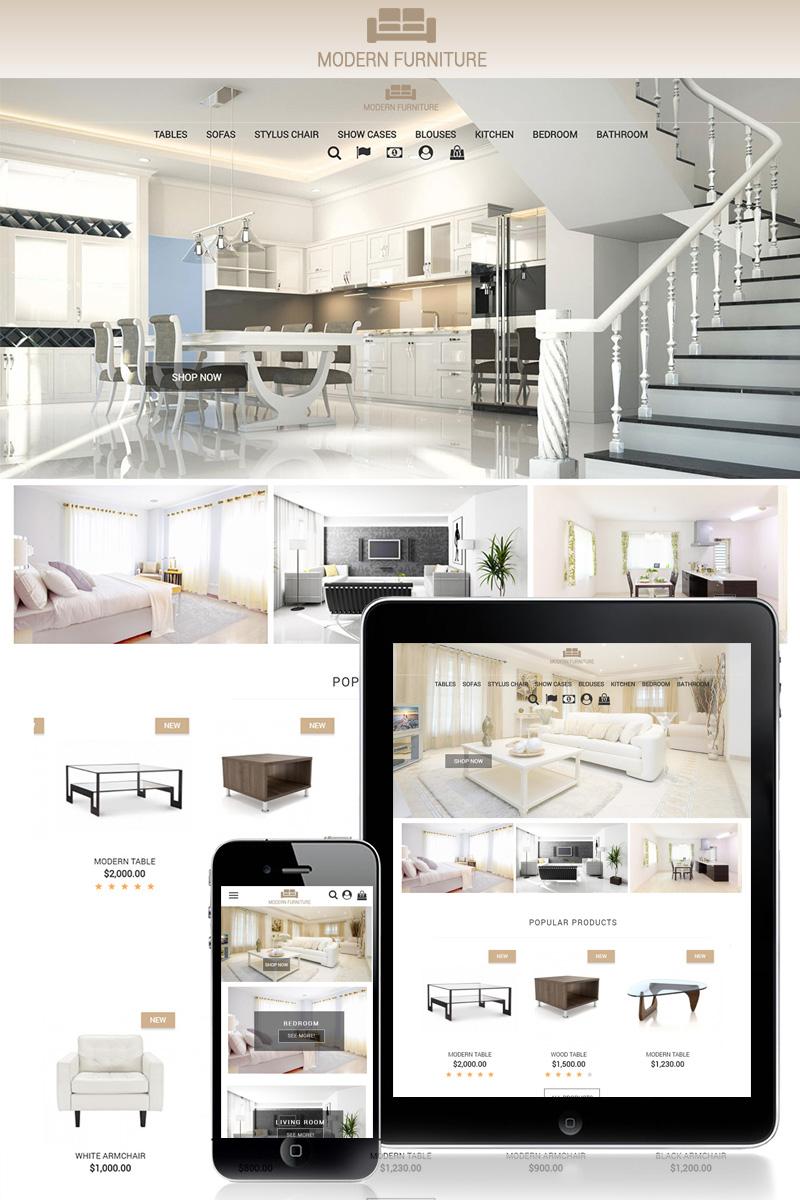 Responsywny szablon PrestaShop Modern Furniture 1.7 #70422