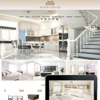 Temi prestashop per siti di casa e famiglia templatemonster for Siti design casa