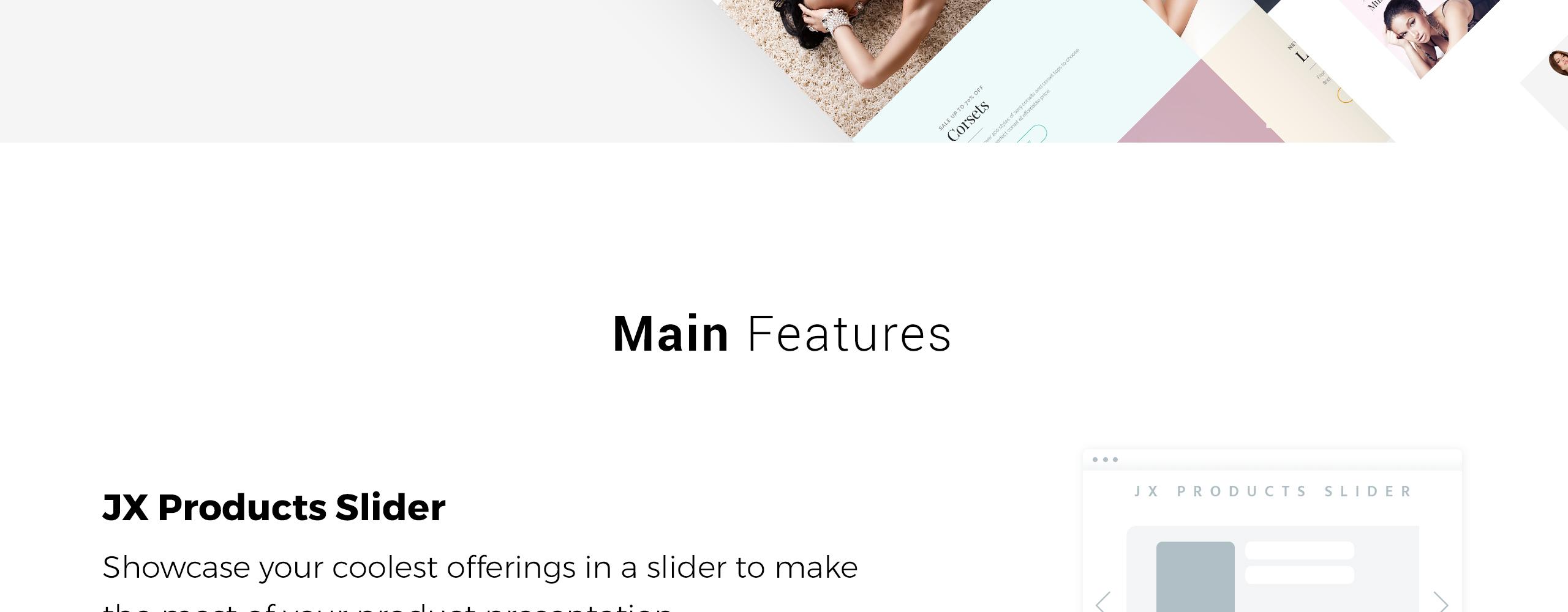 Website Design Template 70515 - women beauty ecommerce prestashop